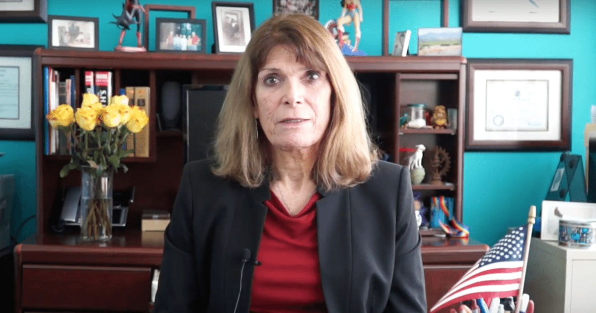 Transgender judicial candidate Jill Rose Quinn declares victory in her Cook County judicial candidate primary bid.